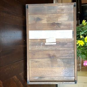 Dining - Wooden Serving Tray